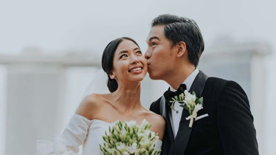 The Sam Willows' Jon Chua marries TV hostfiancée