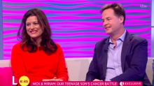 Nick Clegg reveals his son has been battling cancer