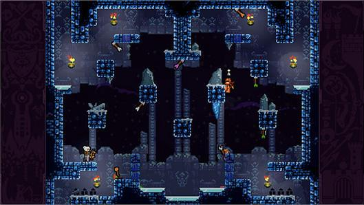 Catch arrows in Towerfall Ascension on PlayStation 4 this March