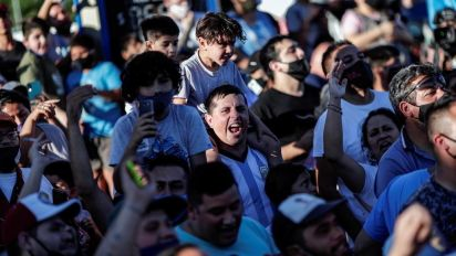 'Adios Diego': Maradona buried in Buenos Aires as world mourns flawed football legend