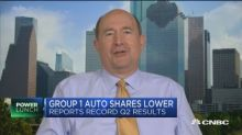 Group 1 Auto CEO on state of the auto industry and tariff...