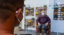 Lar de idosos na Tijuca adapta espaço para visitas