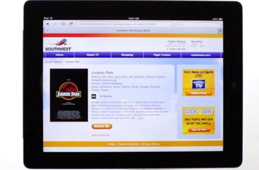 Southwest fliers to get TV for free on mobile devices courtesy of Dish Network