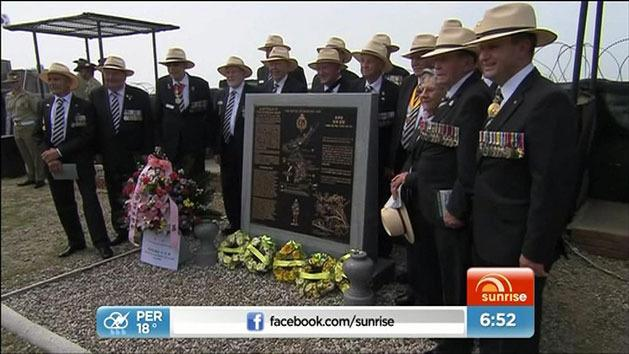 Australia war veterans return to Korea