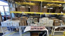 """Drugs and ammo seized in Calif., 3 charged in """"blow"""" to major cartel"""