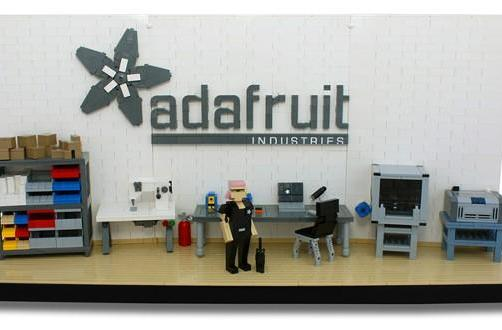 Adafruit unveils Lego Ladyada's Workshop, vote for it to become a reality