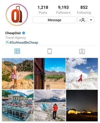 "CheapOair.com Names Six ""Insta-Worthy"" Destinations for Summer 2019"