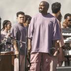Kanye West Threw an On-Brand Sunday Service at Coachella