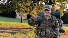 Transgender cadet loses college scholarship because of Trump military ban