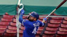 Blue Jays first baseman Tellez goes on injured list with knee strain
