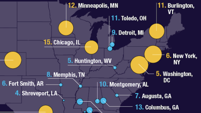These are the healthiest and unhealthiest U.S. cities