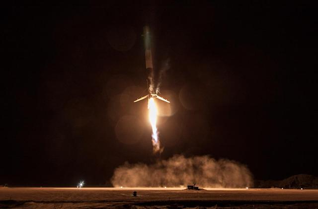 Here's a close look at SpaceX's historic rocket landing