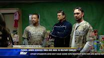 Padres, Armed Services YMCA give back to military families