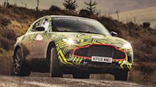 Aston Martin reveals its DBX off-roader as prototype begins testing in Wales