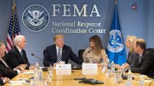 Trump quiet on Puerto Rico death toll at hurricane-preparedness briefing