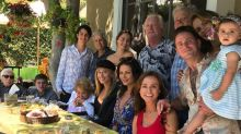 Michael Douglas and Catherine Zeta-Jones Pose with Entire Douglas Clan: '#FamilyFirst'