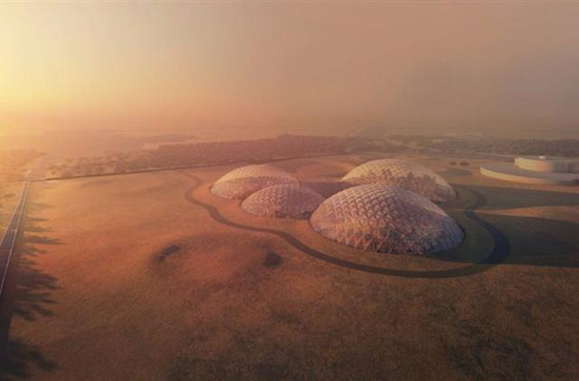 Dubai is building a mock Martian city