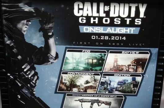 Call of Duty: Ghosts Onslaught DLC allegedly dated for January 28