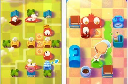 Daily iPhone App: Pudding Monsters brings Cut The Rope charm to a new franchise