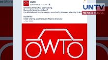 "New transport network company ""OWTO"" stopped by LTFRB"
