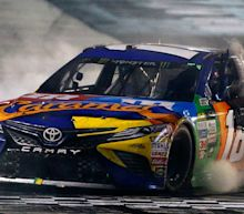 Kyle Busch advances to NASCAR playoffs with New Hampshire win