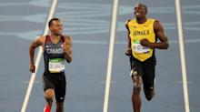 Usain Bolt denies claim he had Andre De Grasse 'booted out' of Monaco race