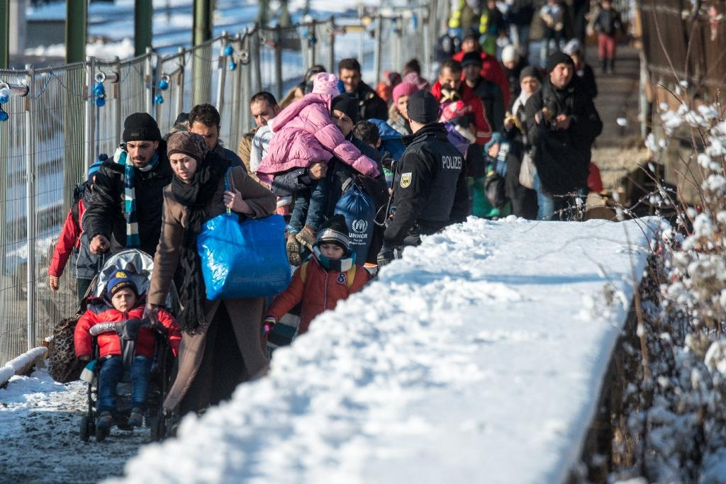 Before the EU-Turkey deal took effect, some 45,000 refugees had already arrived in Greece as Macedonia closed its borders to the migrants (AFP Photo/Armin Weigel)
