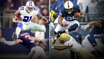 Is Saquon Barkley better than Ezekiel Elliott?