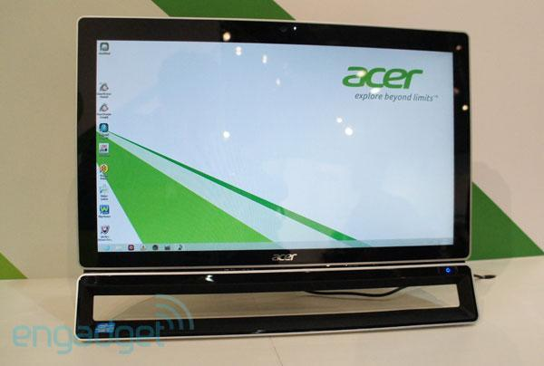 Acer Aspire ZS600 AIO announced at IFA 2012: 23-inch multi-touch Windows 8 PC (hands-on)