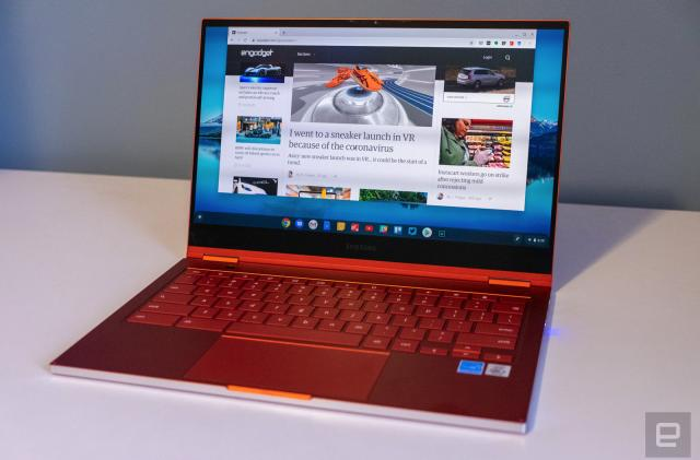 Samsung Galaxy Chromebook review: Great, until the battery runs out