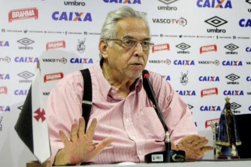 Eurico lança candidatura para reeleição no Vasco nesta quinta
