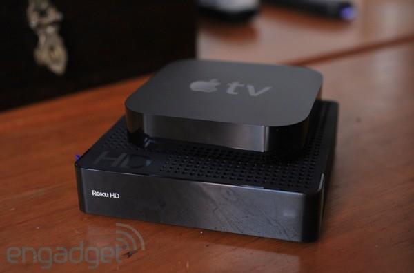 Apple TV vs Roku HD... fight!