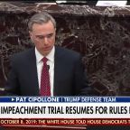 Pat Cipollone argues it's time to start the impeachment trial, slams Democrats' delays