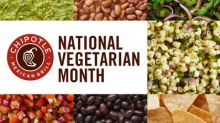 Chipotle Kicks Off National Vegetarian Awareness Month With Meatless Monday Perks For Rewards Members