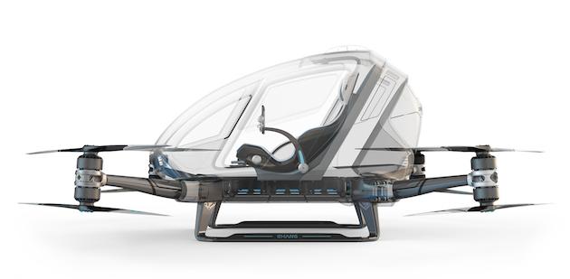 人が乗れるドローン『184』を中国EHangが発表。目的地まで平均時速100kmで自動運転 - Engadget 日本版
