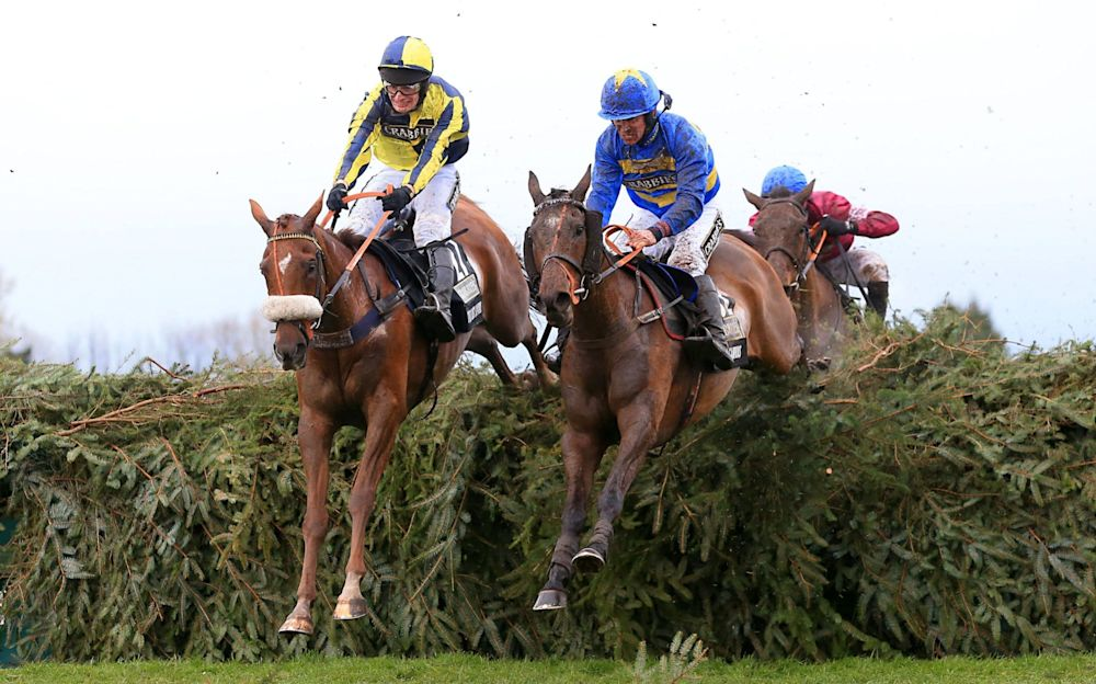 The Last Samuri ridden by David Bass in last year's Grand National - PA