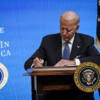 President Joe Biden commits to replacing entire federal fleet with electric vehicles
