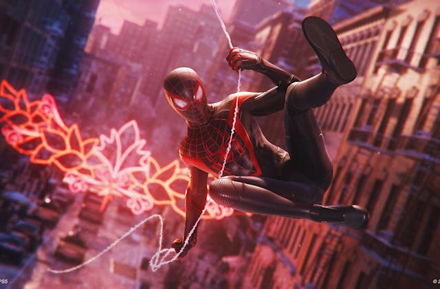 'Spider-Man: Miles Morales' combines ray tracing and 60FPS in new PS5 mode