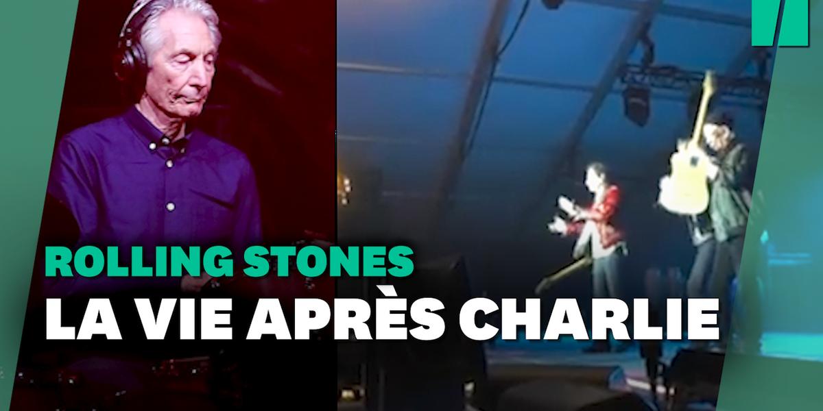 Mort de Charlie Watts: L'hommage des Rolling Stones en plein concert