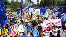 March For Change: Thousands take part in pro-EU rally in London