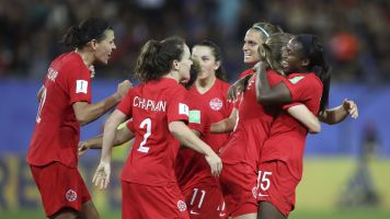 Women's World Cup: Canada in knockout stage
