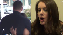 Woman busts cheating boyfriend making out with stripper