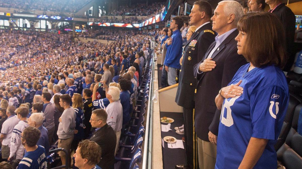Mike Pence's NFL Stunt Cost Police Department $14,000