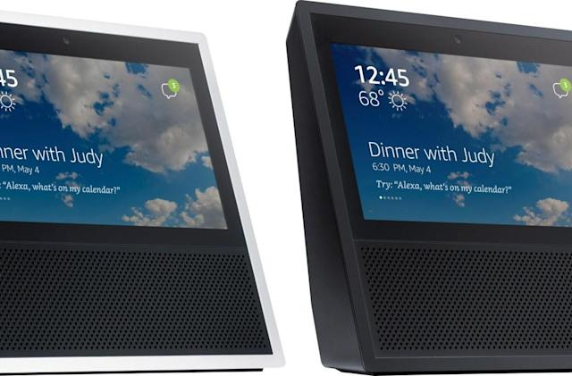 Let's hope this isn't Amazon's touchscreen Echo