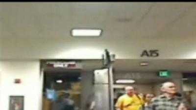 Raw: Passengers Of Flight 812 Arrive In Sacramento