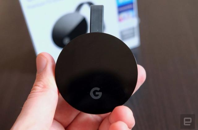 Google's next Chromecast Ultra may be an Android TV dongle