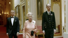 The Queen insisted on her 'Good evening Mr Bond' line in 2012 Olympics sketch