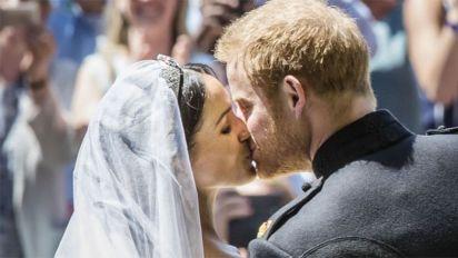 New photos mark Harry and Meghan's anniversary