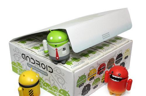 Dyzplastic's authorized Android figurines not upgradeable, but guaranteed not to crash