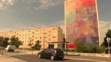 """Le festival d'art urbain """"Rouen impressionnée"""" colore les façades de la ville cet été"""